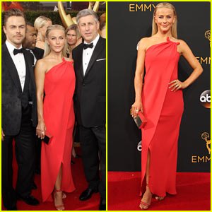 Julianne Hough is Joined by Older Brother Derek & Dad Bruce at 2016 Emmys