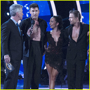 Derek Hough, Maksim Chmerkovskiy & Cheryl Burke Perform Together on DWTS Results Show Week Two (VIDEO)