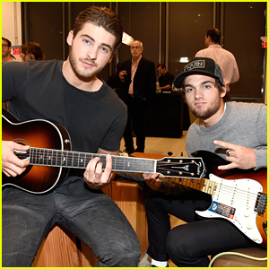 Teen Wolf's Cody Christian & Dylan Sprayberry Hit Fender's Grand Opening in Hollywood