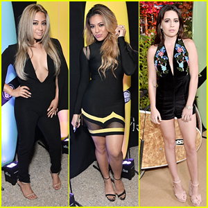 Fifth Harmony's Ally Brooke & Dinah Hansen Step Out For Teen Vogue's Young Hollywood Party