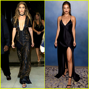 Gigi Hadid & Barbara Palvin Attend Daily Front Row Awards!