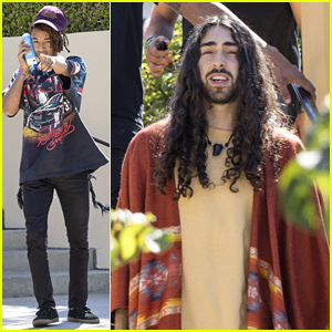 Jaden Smith & Mateo Arias Grab Lunch Together in Los Angeles