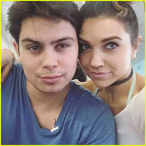 Jenna Johnson Talks Her First Meeting With Jake T. Austin In First 'DWTS' Blog