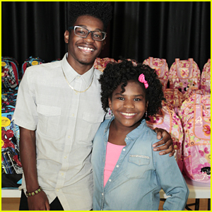 Kamil McFadden & Trinitee Stokes Team Up for Disney's Summer of Service Campaign Event