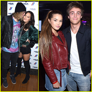 Kelli Berglund & Paris Berelc Reunite For Drake's LA Concert