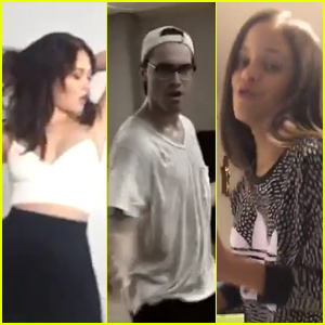 Kelli Berglund, Ryan McCartan & More Take The Diabetes Dance Dare - Watch Now!