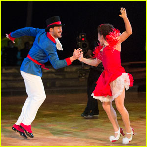 Laurie Hernandez & Val Chmerkovskiy's Jive Tops the Night - 'DWTS' Pics!