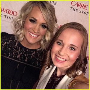 Final Five Gymnast Madison Kocian Meets Carrie Underwood!