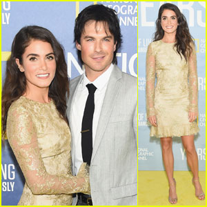 Ian Somerhalder Attends 'Years Of Living Dangerously' Premiere With Nikki Reed