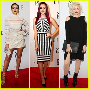 Olivia Culpo & Megan Nicole Kick Off NYFW at IMG & Elle Mag's Party