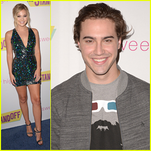 Olivia Holt & Ryan McCartan Premiere 'The Standoff' in LA - See The Pics!