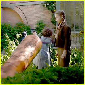Fiona & Bronwyn Grow a Giant Carrot in New 'Miss Peregrine's Home for Peculiar Children' Clip