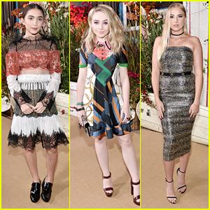 Rowan Blanchard & Sabrina Carpenter Party Together at Teen Vogue's Young Hollywood Bash