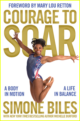 Simone Biles Celebrates National Gymnastics Day & Shows Off 'Courage To Soar' Cover
