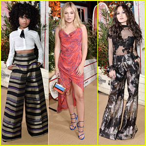 Skai Jackson Steals The Style Spotlight at Teen Vogue's Young Hollywood Party
