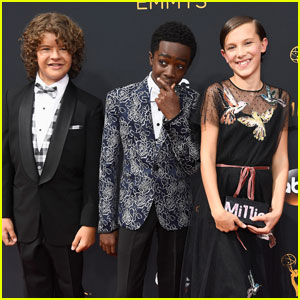 Millie Bobby Brown & the 'Stranger Things' Kids Arrive for Emmys 2016!