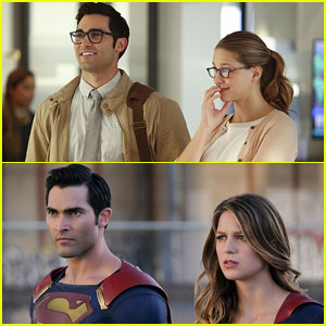Tyler Hoechlin Makes His Superman Debut in 'Supergirl' Premiere Episode Photos!