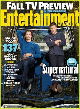 Jared Padalecki & Jensen Ackles Cover EW's Fall 2016 TV Issue!