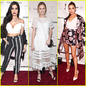 Symon, Alyssa Campanella & Olivia Culpo Celebrate Charlotte Tilbury's New Fragrance During NYFW