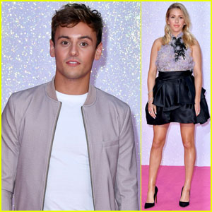 Tom Daley & Ellie Goulding Step Out for 'Bridget Jones's Baby' Premiere