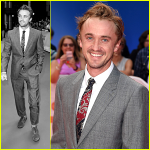 Tom Felton Takes Time Out For Fans at 'A United Kingdom' TIFF Premiere