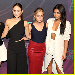 Shay Mitchell & Ashley Benson Help Troian Bellisario Kick Off Her Bachelorette Week!