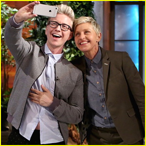 Tyler Oakley Announces EllenTube Talk Show