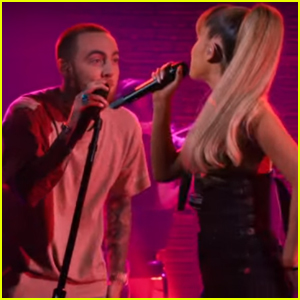 Ariana Grande & Mac Miller Team Up For 'My Favorite Part' Live Performance - Watch It!