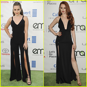 Brec Bassinger & Madelaine Petsch Totally Twinned at the EMA Awards 2016!
