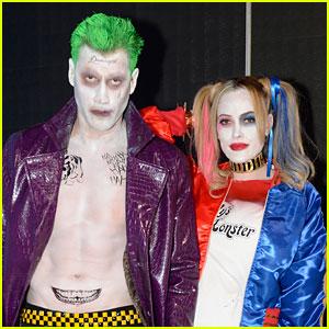 Maksim Chmerkovskiy & Peta Murgatroyd Do 'Suicide Squad' Costumes for Halloween!