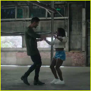 Jake Miller Cozies Up to Simone Biles in New 'Overnight' Music Video - Watch Now!