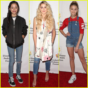 Jenna Ortega & Chloe Lukasiak Spend Sunday Supporting a Good Cause!