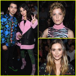 Joe Jonas & Charli XCX Hang Out at Kenzo x H&M Event!