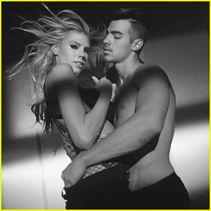 Joe Jonas Gets Shirtless With Charlotte McKinney In DNCE 'Body Moves' Music Video!