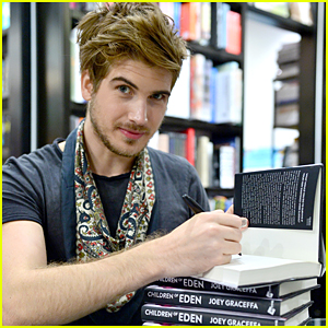 Joey Graceffa Celebrates New Book 'Children of Eden' Being on Best Seller List