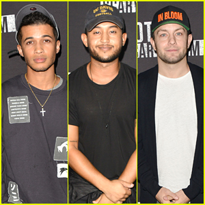 Jordan Fisher & Tahj Mowry Take On Knott's Scary Farm Monsters