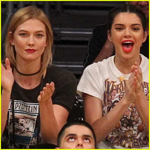 Kendall Jenner Checks Out Rumored Boyfriend Jordan Clarkson's L.A. Lakers Game!