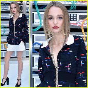 Lily-Rose Depp is a Stylish Chanel Babe in Paris!