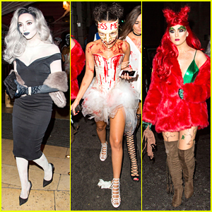 Little Mix Ladies Reveal Halloween Costumes For Party In London