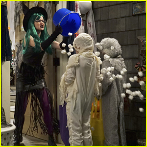 Maddie Rooney Is 100% Done with Trick-Or-Treaters on 'Liv & Maddie' Tonight