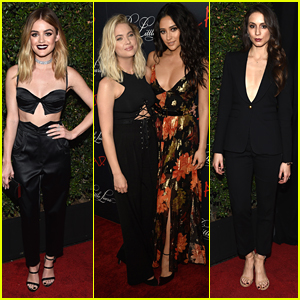 Lucy Hale, Sasha Pieterse & 'Pretty Little Liars' Cast Wrap Up Series With Glam Wrap Party