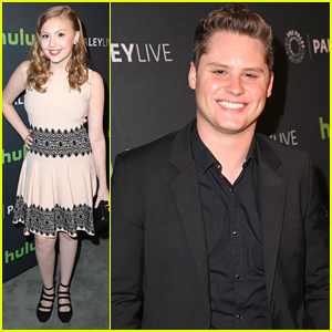 Matt Shively, Bebe Wood & Noah Galvin Screen 'Real O'Neal's' Season Two at Paley Center