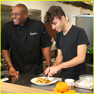 Nathan Sykes' Music Inspires Four-Course Meal For VH1 Save The Music Event