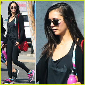 Nina Dobrev Returns from Her Texas Vacation & Hits the Gym!