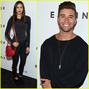 Jake Miller & Nina Dobrev Stop By Art Opening in LA