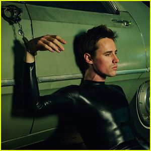 Rocky Horror's Reeve Carney Handcuffed to Car in New Tyler Shields Photo Shoot!