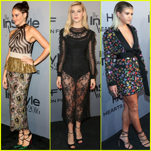 Shailene Woodley, Nicola Peltz & Sofia Richie Step Out at InStyle Awards