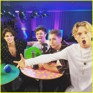Watch The Vamps Perform Their New Single 'All Night' at BBC Radio 1 Teen Awards 2016!