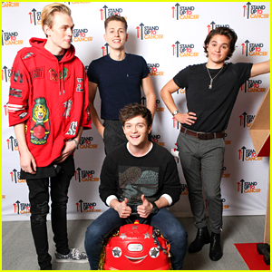 The Vamps Join Dan & Phil For Stand Up 2 Cancer with YouTube Event
