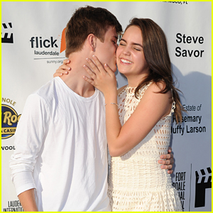 Bailee Madison Surprised By Boyfriend Alex Lange at 'Annabelle Hooper' Florida Premiere